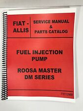 Allis Chalmers DM Series ROOSA MASTER fuel Injection Pump Parts And Service