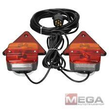 Anhänger Beleuchtung PKW Beleuchtungssatz Rückleuchten mit Magnet 12V