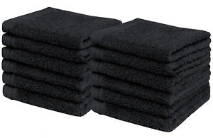 "Weidemans® Premium 12 Pcs Finger Tip / Wash Cloths Towels (13"" x 13"")"