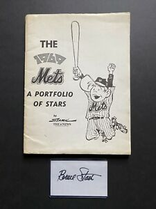 1969 NY Daily News Mets Portfolio Of Stars Complete And Stark Signed Index Card!