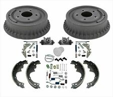 New Brake Drums Brake Shoes Springs 9pc Kit For Chevrolet Monte Carlo SS 85-88