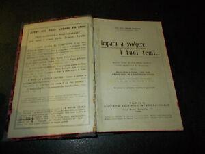 C. Paperini IMPARA A SVOLGERE I TUOI TEMI ed SEI 1938 temi d'italiano svolti