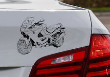 """K1200RS, Auto-Motorrad-Aufkleber K 1200RS für den """"Motorrad BMW Fahrer"""""""