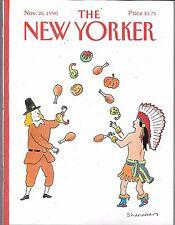 THE NEW YORKER MAGAZINE NOVEMBER 26, 1990 (VF)