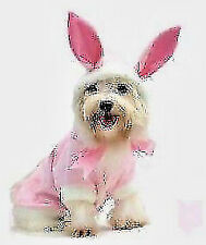 Easter Bunny Pink dog costume jacket shirt FOR X SMALL TO XXLARGE DOGS - New