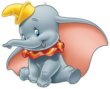 Disney Dumbo Iron On Transfer For T-Shirt & Other Light Color Fabrics #2