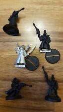 Eldar Aeldari Craftworlds Ranger Squad 5 Models Metal OOP