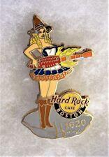 HARD ROCK CAFE BOSTON SEXY SCARECROW GIRL PLAYING CORN COB GUITAR PIN # 73568