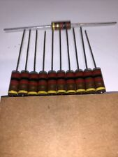 2K OHM 1 watt 5%  Mil Spec. Carbon Comp Resistor New Pack  Of 10 By STACKPOLE