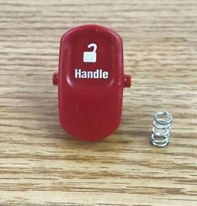 Shark NV501 NV500 NV510 NV504 HANDLE LOCK RELEASE PUSH BUTTON TAB CLIP READ NOTE