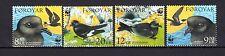 Faroe Islands Foroyar 2005 WWF Birds MNH Sc.458-61;Mi.530/33