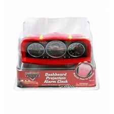 Kids Dashboard Projection Alarm Clock Disney Pixar Cars Unisex Black-Red