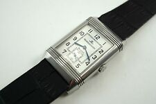 JAEGER LeCOULTRE 270.8.62 GRANDE TAILLE REVERSO STAINLESS STEEL DATES 2000'S