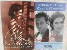 Celine Dion Power Of Love When I Fall In Love Cassette Singles Clive Griffin