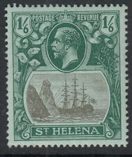 St Helena GV 1922 1/6 grey & green on blue-green MOUNTED MINT sg93