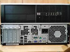 HP PC 8000 Elite sff Desktop Core 2 Duo E8500 2x 3,16GHz 4GB 500GB Windows 7