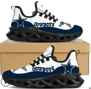 Dallas Cowboys Sneaker Running Shoes For Men  Mesh Trail Training Shoes