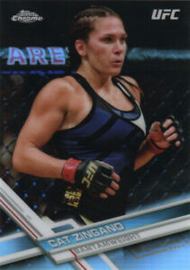 2017 Topps Chrome UFC Refractors #s 1-100 (A3709) - You Pick - 10+ FREE SHIP