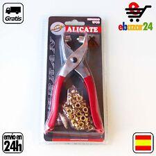 Alicate 140mm OJALES ALICATES Y LATÓN remaches ropa *Envío GRATIS desde España*