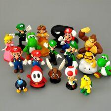 Super Mario Bros lot de 18 Figurines très mignonne poupée classique jouet décor