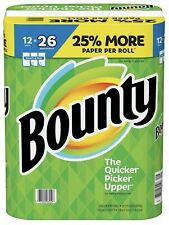 Bounty Select-A-Size Paper Towels, White (12 rolls) FREE SHIPPING