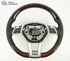 LE TEF® Wurzelnuss Holz Lenkrad für Mercedes-Benz AMG W212 W204 R172 R231 C197