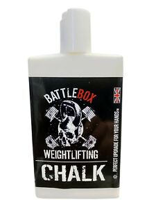 BattleboxUK 100ML Liquid Chalk Rock Climbing Gymnastic Gym Fitness Weightlifting