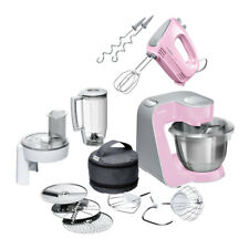 Bosch MUM58K20 Küchenmaschine inkl. MFQ2210K Handrührer Rosa