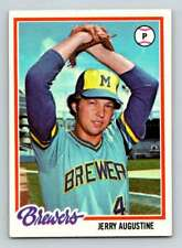 1978 Topps #133 Jerry Augustine (High Grade) Brewers (Buy 1,Get 1 Free)