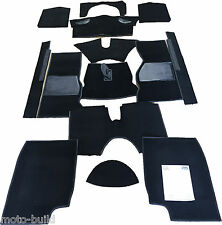 TRIUMPH TR4 TR5 TR6  CARPET SET BLACK NEW