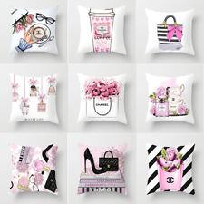 Fashiom Perfume Bottle Series Pillow Case Home Car Office Cushion Pillowcase