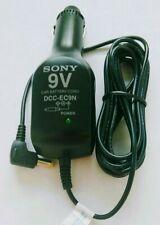 New listing Sony Dcc-Ec9N 9V Car Battery Cord Black