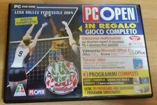 """GIOCO PC DVD ROM """"VOLLEY LIVE, LEGA VOLLEY FEMMINILE 2004"""" USATO PARI AL NUOVO"""