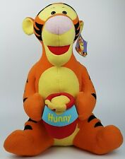 ~ Large 48 CM ~ Winnie The Pooh ~ Tigger & Hunny Pot ~ Fisher Price ~ Soft Toy ~