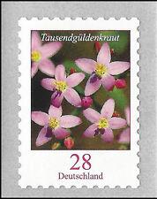 Tausendgüldenkraut 28 Ct. postfr. skl. aus Maxirolle (5.000er-Rolle) – Mi. 3094