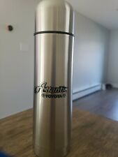 PUSH LID Thermos Beverage Water Bottle Insulated Stainless Steel LOGO TOYOTA