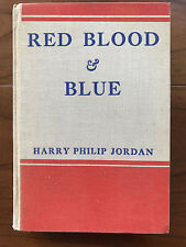 Red Blood & Blue, H. P. Jordon-1936-Inscribed to Eleanor Roosevelt, 1st Ed, Book