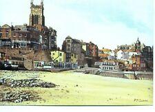 Cromer Norfolk Peter J Cousins 1985 unused sketch postcard