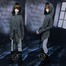New BJD Doll Grey long sleeve Hoodies FOR BJD 1/3,1/4MSD,Uncle CLOTHES