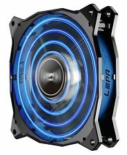 Enermax LPCPA12P-BL Lepa 12cm Blue Led Fan Unique Cfan Quad-ring Led Pattern
