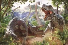 Dinosaur Battle (David Penfound) Maxi Poster 61cm x 91.5cm PP34017 - 667