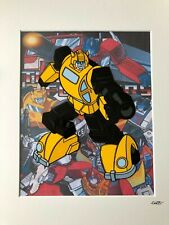 Transformers - Autobots - Bumblebee - Hand Drawn & Hand Painted Cel