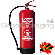 9 Litre Water Fire Extinguisher High Quality Ideal for Warehouse Office Workshop 2