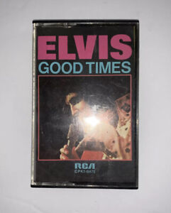 Elvis Presley Good Times RCA Cassette Tape Album 1974 Got A Thing About You Baby