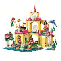 Princess Ariel's undersea Palace Gift girls Building Block 400PCS FREE SHIPPING!