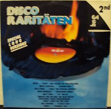 DISCO RARITÄTEN 2 nd - Sampler