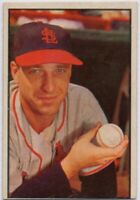 1953 Bowman Color #17 Gerry Staley VG-EX St. Louis Cardinals FREE SHIPPING