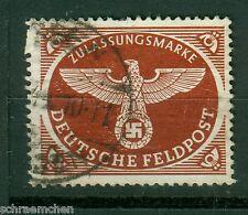 Deutsches Reich , Michel Nr. 2Ay ,  Feldpost  Päckchenmarke , o ,