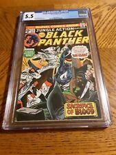 Jungle Action and Black Panther 19 cgc vs. the Klu Klux Klan gil kane