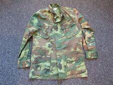 Vietnam Us Army Erdl camo tunic size small regular 1969 contract